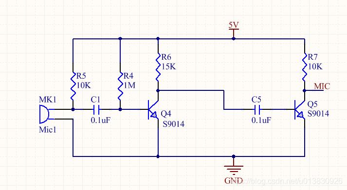 咪头原理以及应用电路插图9